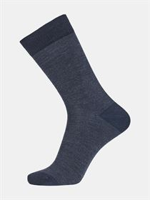 Egtved Twin sock uld/bomuld navy