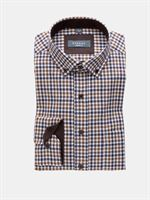 Eterna flannel skjorte Modern Fit